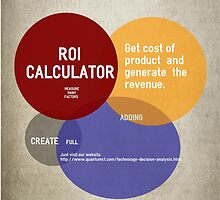Calculate Income Stream by Technology ROI  by angila
