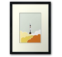 Space: Lift Off Framed Print