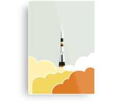 Space: Lift Off Metal Print
