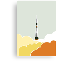 Space: Lift Off Canvas Print