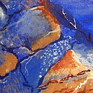 Tangerine Rocks by Kathie Nichols