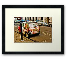 Electric Avenue Framed Print