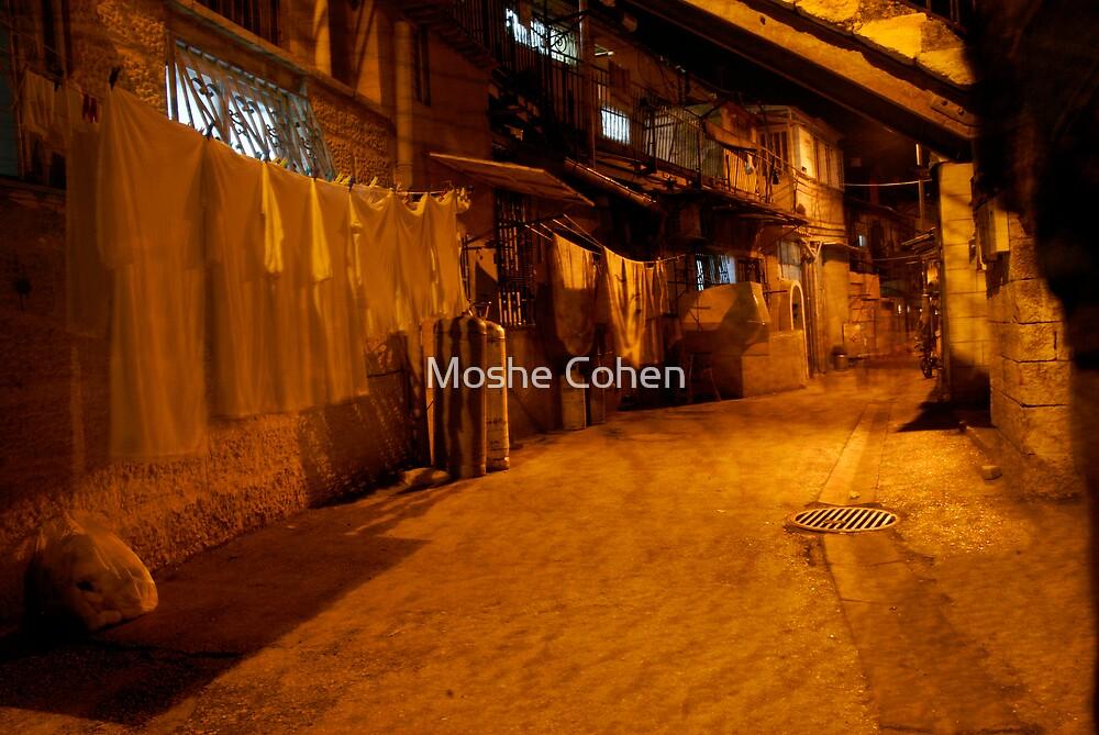 Laundry in Jerusalem by Moshe Cohen