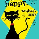 Cat's happy , everybody is happy by kennypepermans