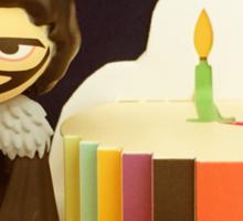 Jon Snow Birthday Sticker