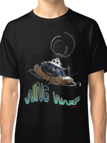 Mil Helicopter Wing Warp T-shirt Design Classic T-Shirt