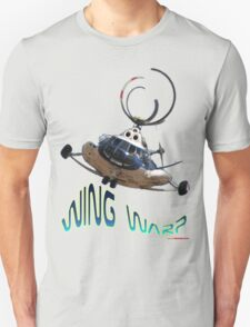 Mil Helicopter Wing Warp T-shirt Design T-Shirt
