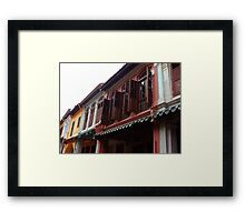 Airing the place Framed Print