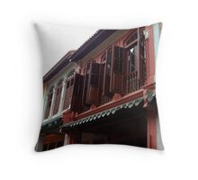Airing the place Throw Pillow