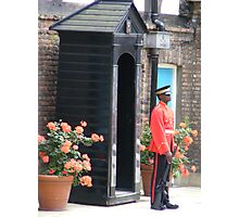 Sentry box Photographic Print
