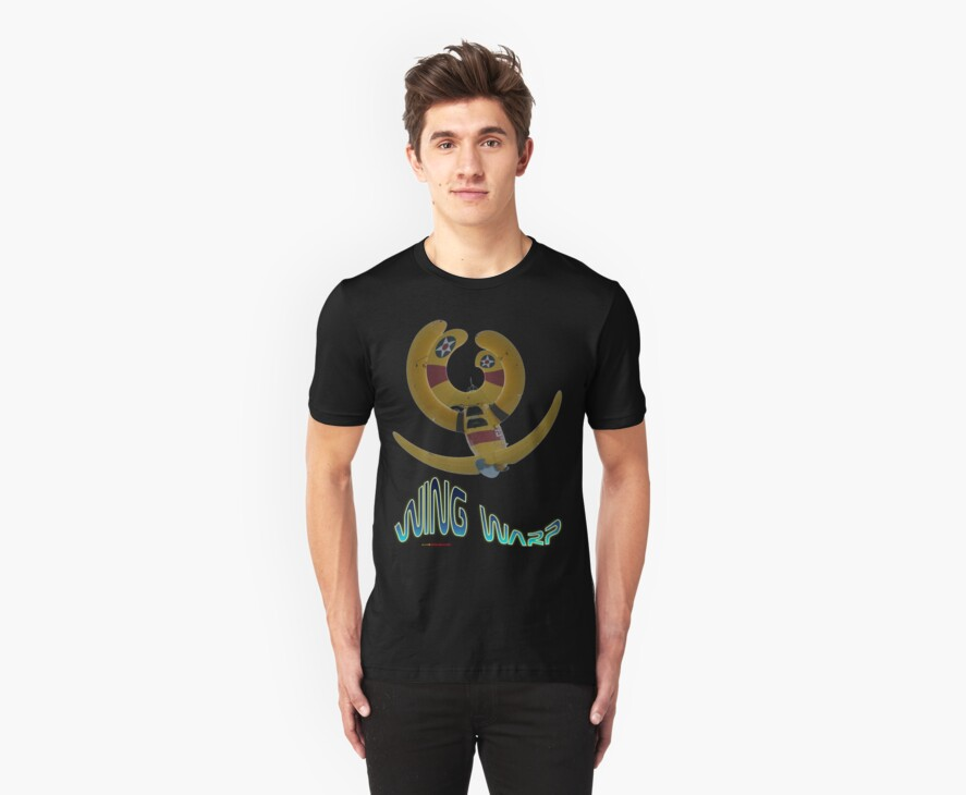 Boeing Steerman WingWarp T-shirt Design by muz2142