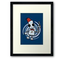 Ned the Time Traveller (11) Framed Print