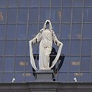 3 muses in the sky of downtown san francisco by Bob Moore