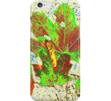 AUTUMN LEAVES DIGITAL/COLLECTION iPhone Case/Skin