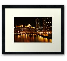 Merchandise Mart Wide Angle Framed Print