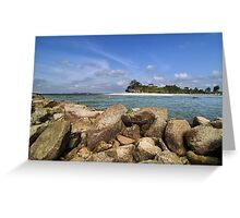 Gone Swimming Greeting Card