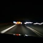 M42 at night, from my car ! by Ian Reeley