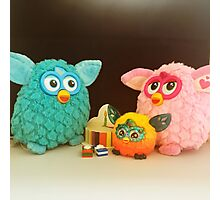 Furby Birthday Party Photographic Print