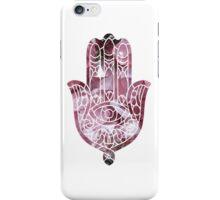 Rose Crystal Hamsa iPhone Case/Skin