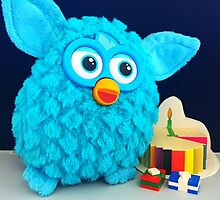 Blue Furby Birthday by FendekNaughton
