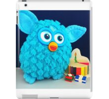 Blue Furby Birthday iPad Case/Skin