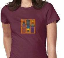 African Dolls Womens Fitted T-Shirt