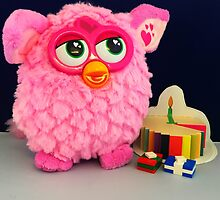 Pink Furby Birthday by FendekNaughton