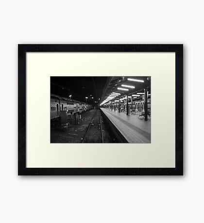 Central Station, Sydney. Framed Print