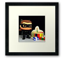 Catwoman Birthday Framed Print