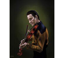 Star Trek: cmd.Data Photographic Print