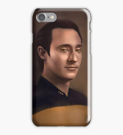 Star Trek: cmd.Data iPhone Case/Skin