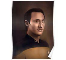 Star Trek: cmd.Data Poster