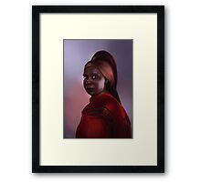 Star Trek: Guinan Framed Print