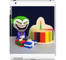 Retro Joker Birthday iPad Case/Skin