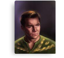 Star Trek: cpt.Kirk Canvas Print
