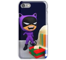 Retro Catwoman Birthday iPhone Case/Skin