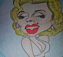 Marilyn Monroe by leeessliee