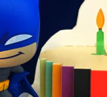 Mini Batman Birthday Sticker