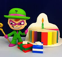Riddler Birthday by FendekNaughton