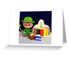 Riddler Birthday Greeting Card