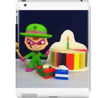 Riddler Birthday iPad Case/Skin