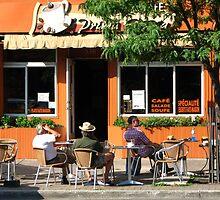 Coffee Break by Carole Brunet
