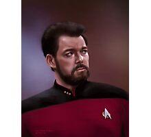 Star Trek: cmd. Riker Photographic Print