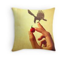 The Treat Throw Pillow