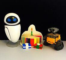 Wall-E & Eve Birthday by FendekNaughton