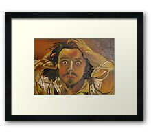 The Desperate Man Framed Print