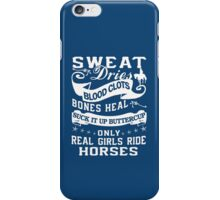 Real Girls Ride Horses iPhone Case/Skin