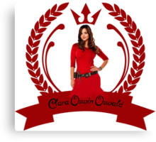 Oswin for the win - Oswin! Canvas Print