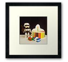 Robocop Birthday Framed Print
