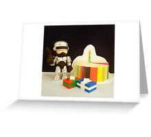Robocop Birthday Greeting Card